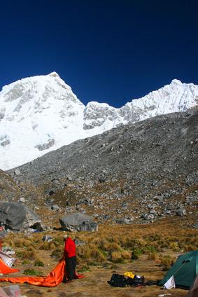 Trekkingtour in den peruanischen Anden
